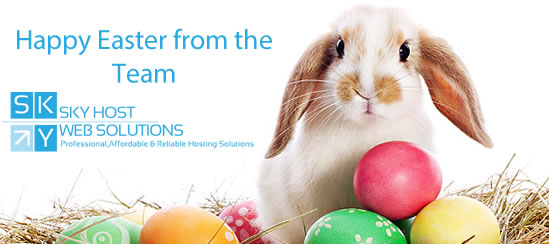 Happy Easter from Sky Host Web Solutions
